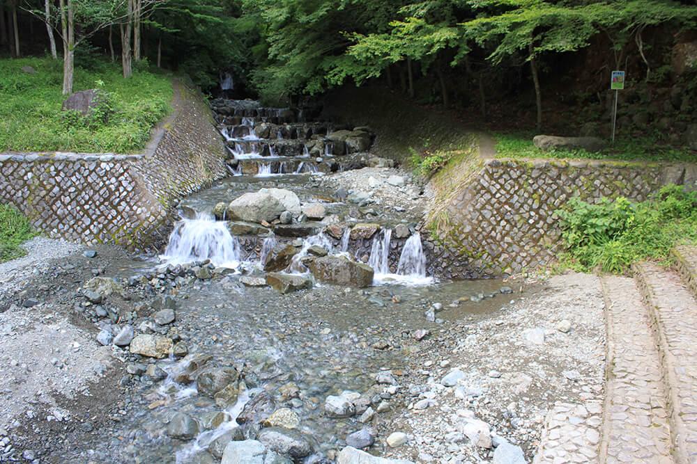 新田川~葛葉川/不動の滝と出合えるお花見コース