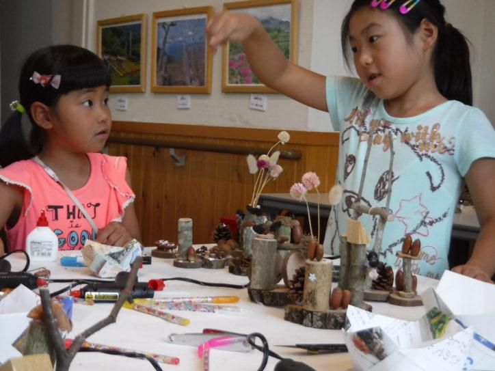 自然素材を使ったクラフト教室8月15日(土)開催。参加無料!@いせはら塔の山緑地公園(伊勢原市)