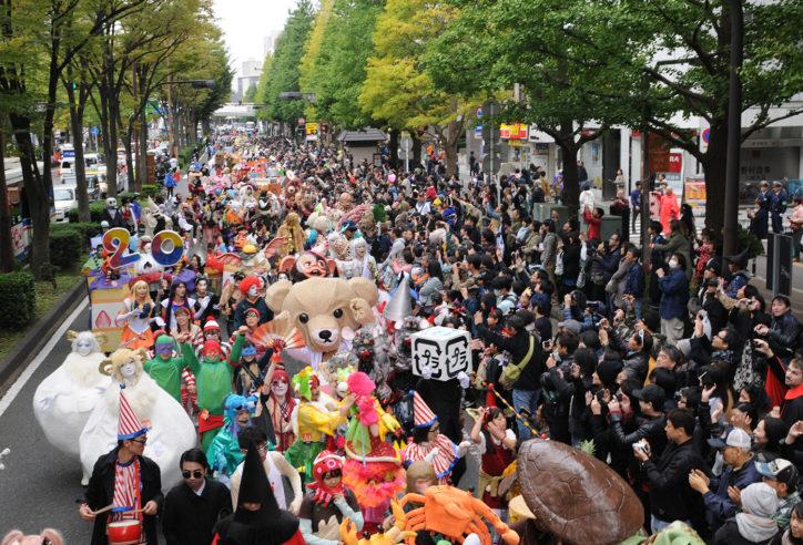 日本最大級『カワサキ ハロウィン2018』新川通りを完全ジャック!仮装コンテストもアプリで参加