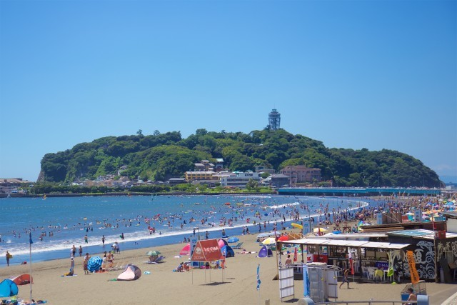 片瀬東浜海水浴場【藤沢市】