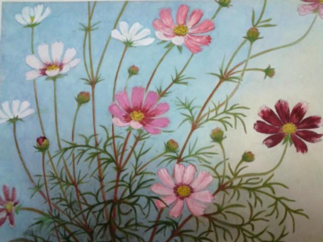 絵画で国際交流!「世界の花」国際女性画家展@横浜市民ギャラリーあざみ野(横浜市青葉区)