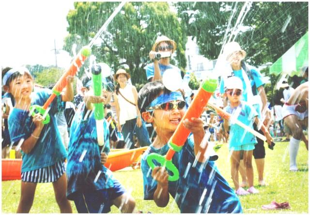 究極の水遊び!?「寒川びっちょり祭」の水しぶきが心地いい!さむかわ中央公園で開催【8月13日(日)】