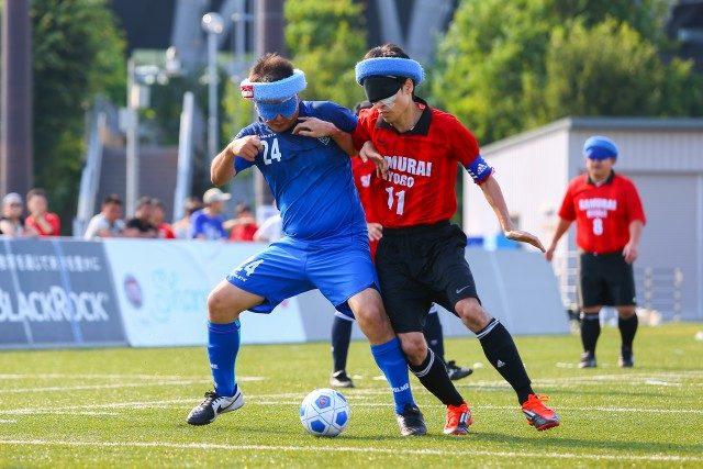 富士通スタジアム川崎「ブラインドサッカー」日本一決定戦!世界最高峰プレーを見に行こう