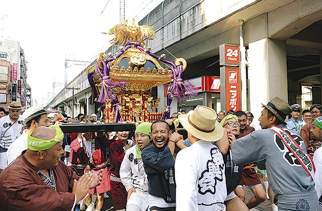 丸子山王日枝神社で山王祭