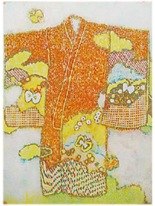 庄司光里さん・松崎大祐さんによる「ふうふてん―木版画と張子―」