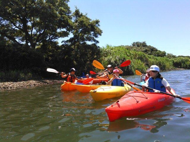 相模川でわくわくチャレンジカヌー体験!寒川町「田端スポーツ公園」で開催