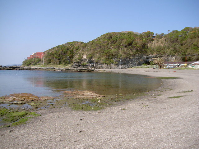 荒井浜海水浴場【三浦市】