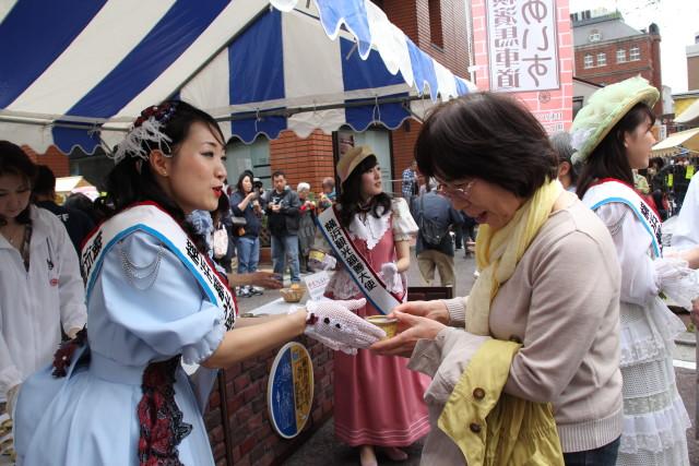 5月9日(火)チャリティー募金で「馬車道あいす」プレゼント!8日からはマルシェも@馬車道商店街(横浜市中区)