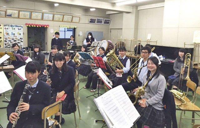 秦野総合高等学校 吹奏楽部の定期演奏会
