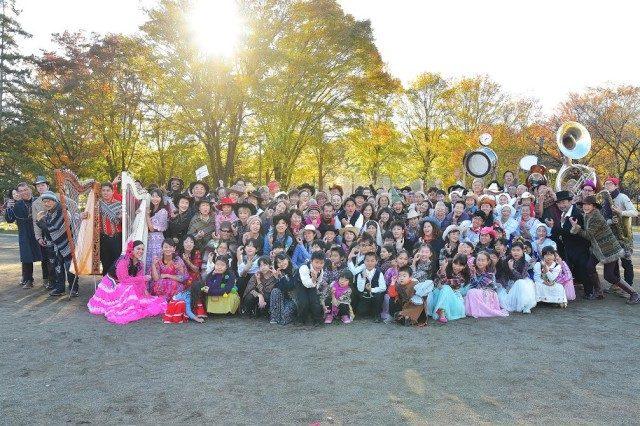 竹楽器・合唱・ダンス!横浜たまプラーザで住民発の「まちなかパフォーマンス BAMBOOMバンブーン」開催