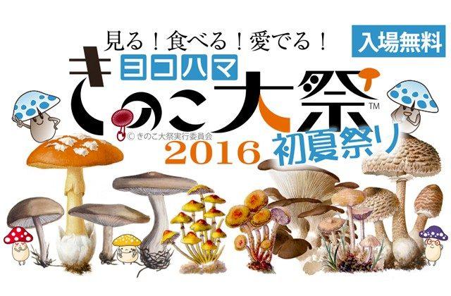 見る!食べる!愛でる!きのこ大祭 2016@ハウススクエア横浜