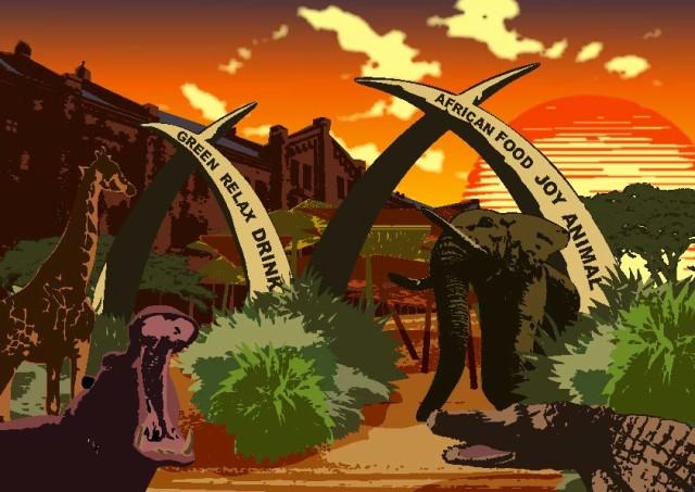【期間限定】横浜赤レンガ倉庫がアフリカンリゾートに!『Jambo FARM!!RED BRICK Paradise(ジャンボファーム!レッドブリックパラダイス)』