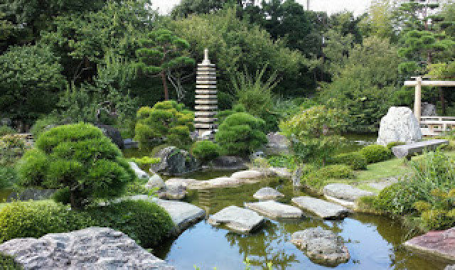 旧吉田茂邸地区で「日本庭園の魅力」伝える講演会in県立大磯城山公園