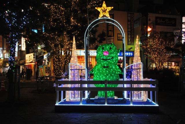 ニッキークリスマスイルミネーション@小田原駅東口錦通り商店街