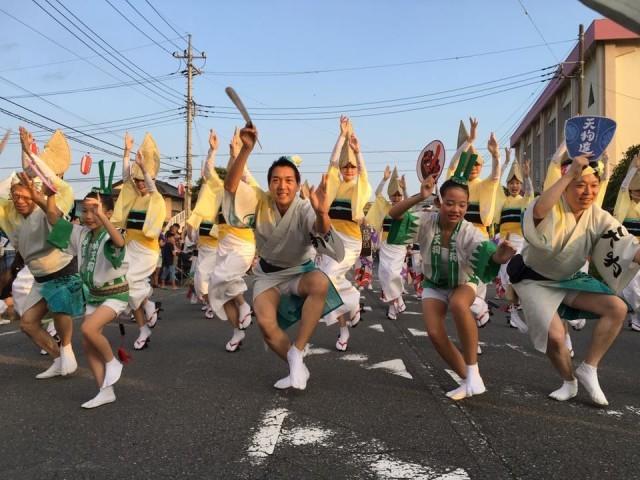 「開成町阿波おどり」足柄の小さな町に踊り手1,000人が集結!9月9日(土)