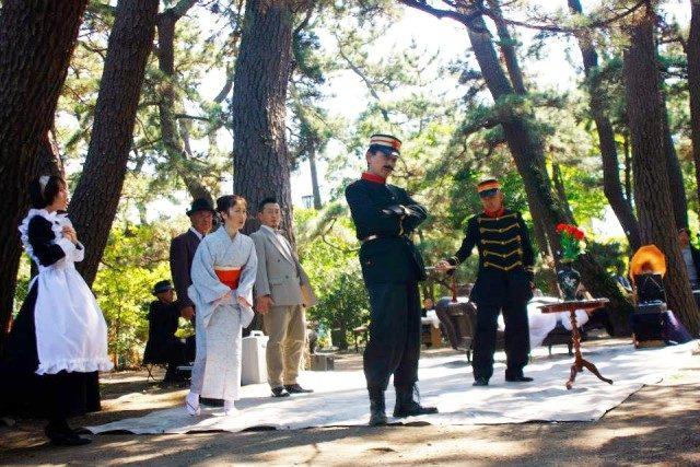 茅ヶ崎で川上音二郎・貞奴の世界観に触れる祭り 9/24・25 趣きある高砂緑地で野外演劇も
