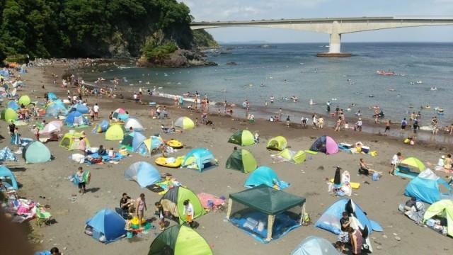 岩(いわ)海水浴場【真鶴町】