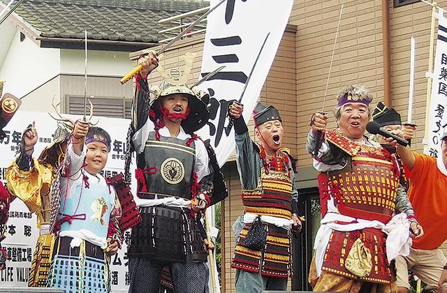 厚木最大の「甲冑夏フェス」!愛甲三郎納涼祭りでパレード、厚木ご当地グルメ、流しそうめんを楽しもう