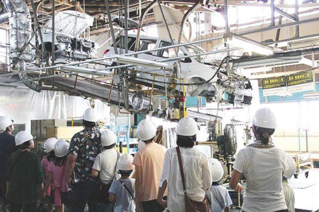 日産車体湘南工場で溶接と組み立て工程を見学できる!!
