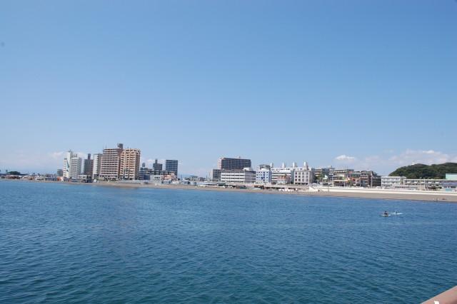 腰越海水浴場【鎌倉市】
