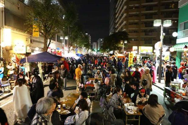 吉田町本通り&ノラねこ通りでビアガーデン路上ハロウィンパーティ!【横浜市中区】