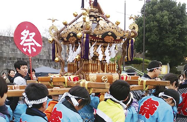 地元小学生の子ども神輿が盛り上げる!「南大沢八幡神社『例大祭』」8月20日(日)開催(八王子市)
