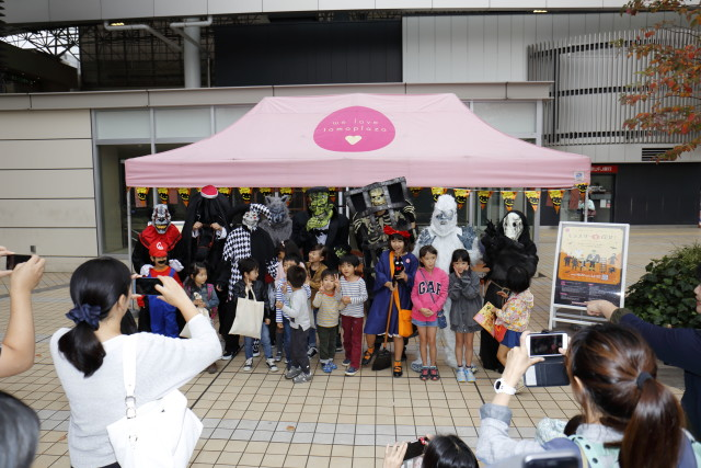 モンスターを探せ!たまプラーザハロウィンはスタンプラリーで楽しむ仮装&お菓子イベント【横浜市青葉区】