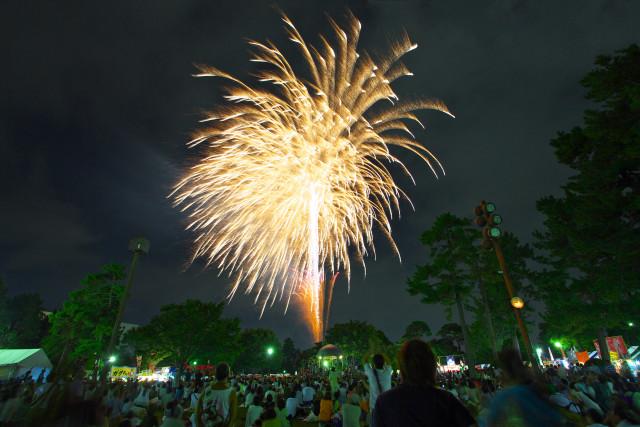 相模大野の駅チカで花火も楽しめる祭典「もんじぇ祭り」