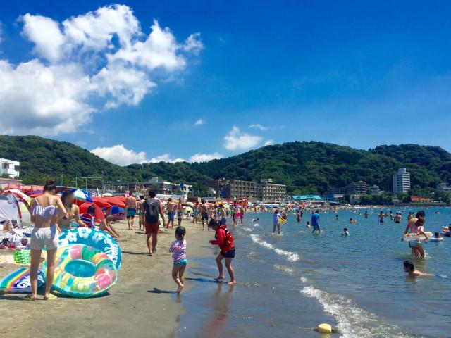 逗子海水浴場「ファミリービーチ逗子」【逗子市】