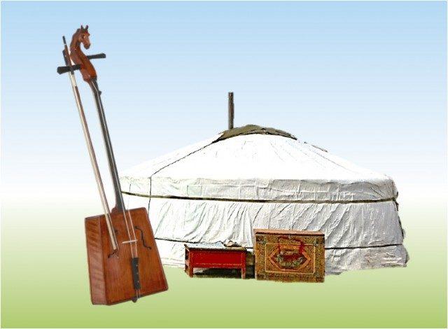 金太郎みらいホールでモンゴル伝統文化楽しんで