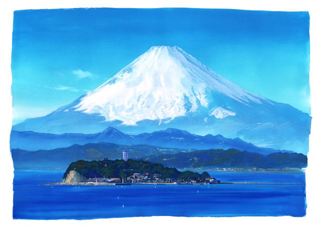 湘南江の島できらめく風景画。藤沢辻堂出身・北英明さん絵画展「水彩イリュージョン」