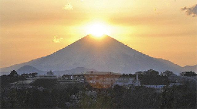 チャンスは2回。足柄で「ダイヤモンド富士山」観られるかも!?