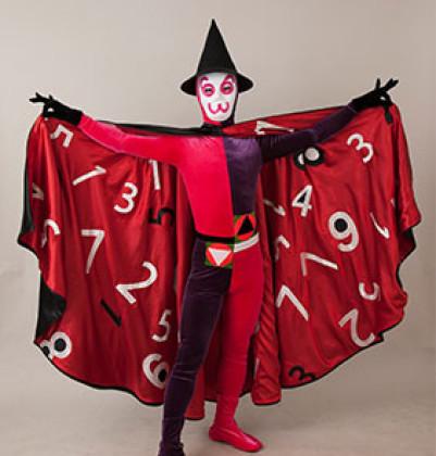 算数が大好きになるステージショー。さんすう怪人・カズラーも登場@たまプラーザ