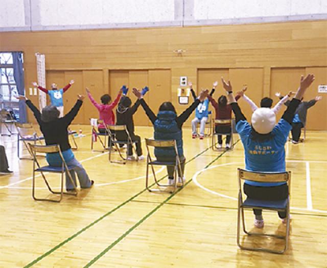 藤沢市保健所主催「かわせみ体操講習会」@秩父宮記念体育館
