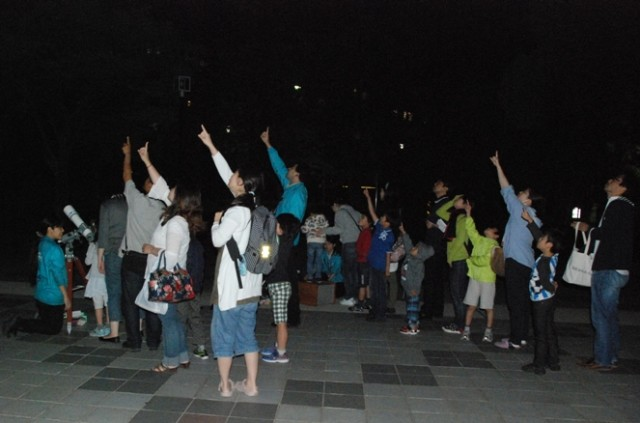 9月の星空をみよう!満月をみよう!プラネタリウムと星空観察会。