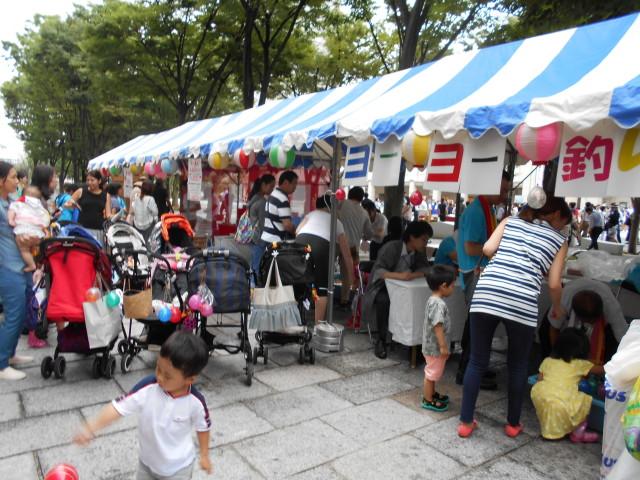 みなとみらい「グランモール公園夏祭り2017」神輿や縁日も!