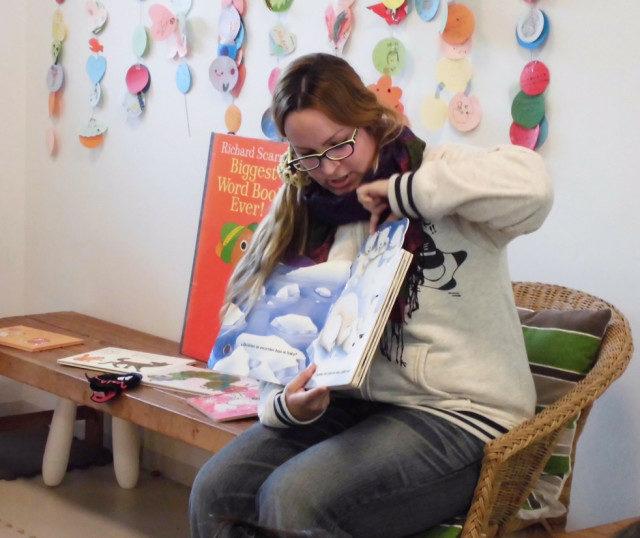 まちづくりスポット茅ヶ崎で「えほんと一緒に世界の旅へ」。スペイン出身のママが絵本朗読&母国紹介
