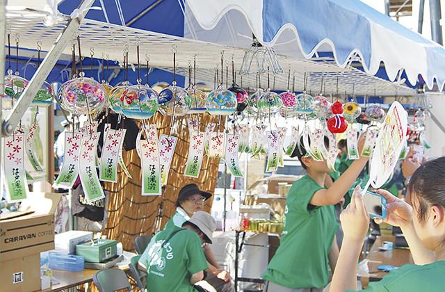 「 西口風鈴まつり」は大和阿波おどりと同日開催、大和・もう一つの風物詩【7月29日(土)30日(日)@大和駅西側プロムナード】