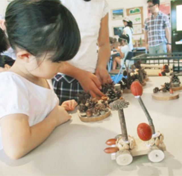 公園の自然素材を使ったクラフト教室 8月19日(土)開催。参加無料!@いせはら塔の山緑地公園(伊勢原市)
