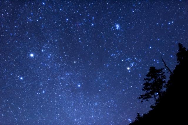 廃校で冬の星座を観察しよう@旧北足柄中学校