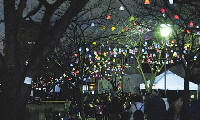 笑顔灯す「ひかりの実」などアート体験イベント!@地蔵原の水辺(横浜・いずみ中央駅)