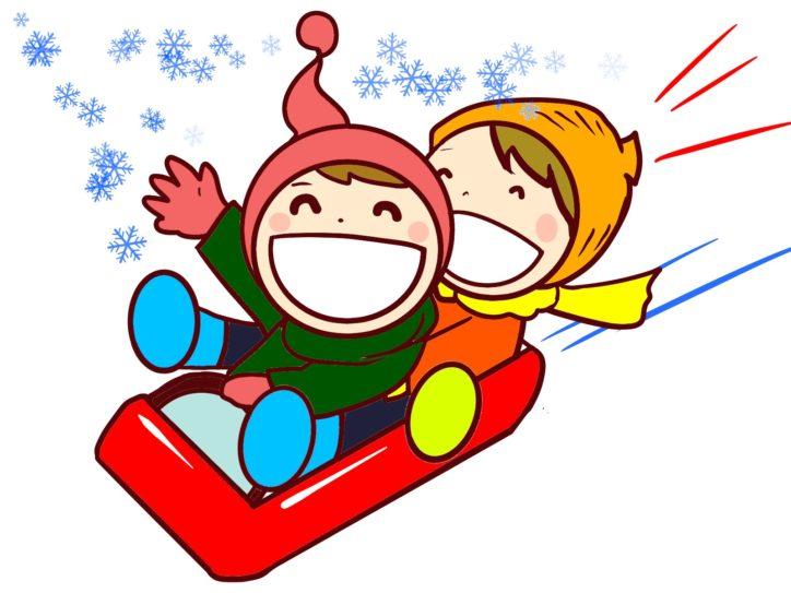 たかつde雪遊び!親子そり体験@スノーヴァ溝の口