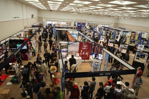 クリスマスに「お城EXPO2018」@パシフィコ横浜 静岡市外で初「金箔瓦」展示も
