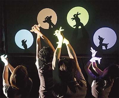 国内最古の影絵専門劇団「劇団かかし座」がクリスマス公演【入場無料】