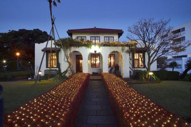 横浜山手西洋館に灯る温もりいっぱい世界のクリスマスイルミ