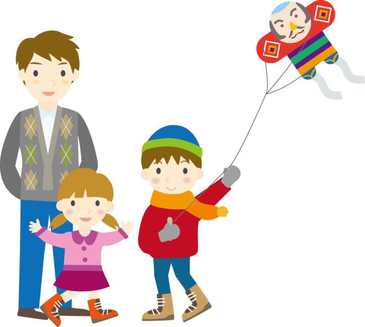 相模三川公園で凧づくり教室&えびな凧揚げまつり