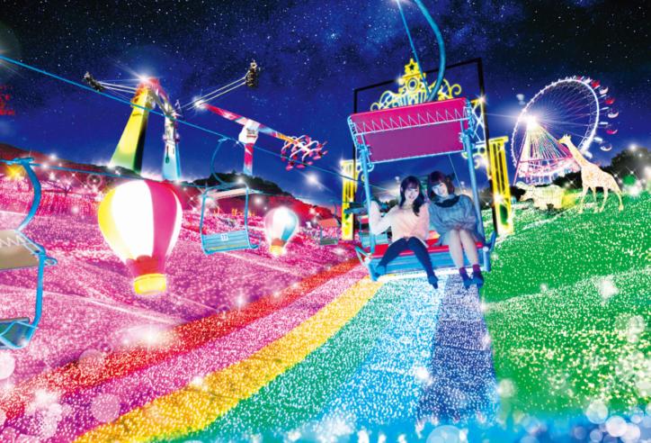 関東最大級600万球の「さがみ湖イルミリオン」闇夜に輝く広大な園内で光とあそぶ