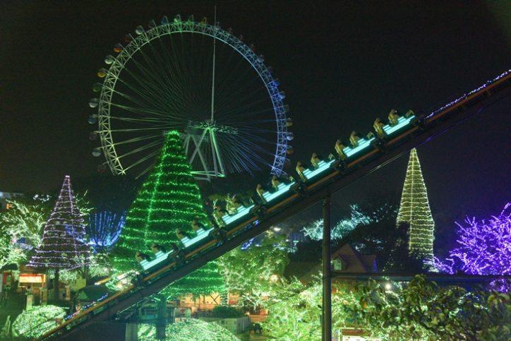 2018年の「ジュエルミネーション®」は光の理想郷『輝きのライトピア』@よみうりランド