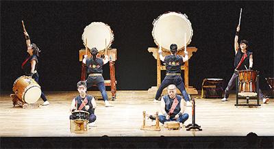 関東近郊代表チーム集結「関八州太鼓まつり」海老名市文化会館大ホール