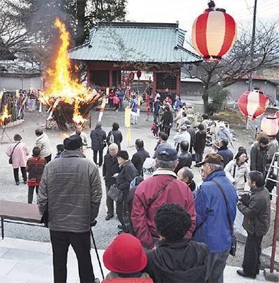 松田町の延命寺で「初観音・馬頭観音例祭」わたがし、おしるこの振る舞いも!